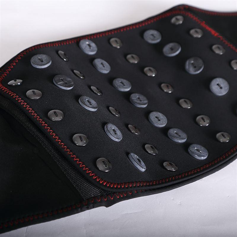 護ベルト腰盤過労保温電気加熱赤外線の磁力療法発熱際立って腰腰からマッサージ器の男女