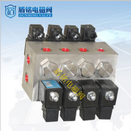 Chongqing Changjia direct shield Ming stainless steel flange DN20 two position three way solenoid valve 0.6MPa gas oil