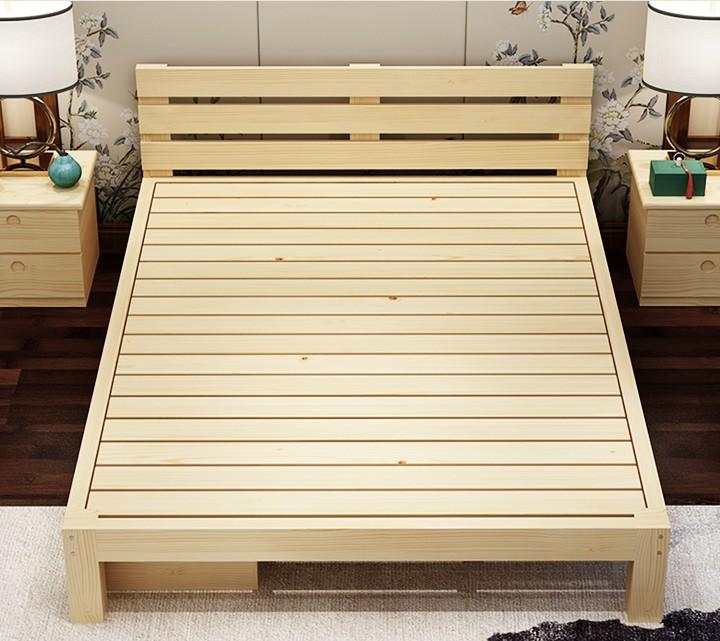 деревянные кровати Кровать журнал цвет деревянные кровати размера деревянные кровати Кровать типа 1 комплекты экономики 1,8 метров девушка