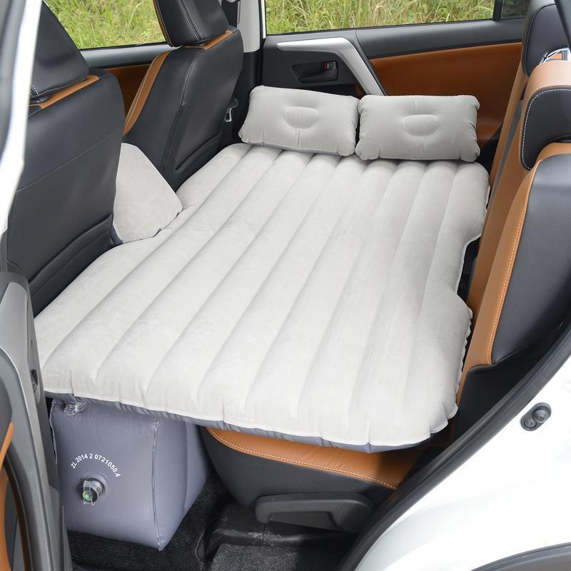 Car car car rear folding bed adult inflatable mattress universal travel Oxford flocking cloth driving