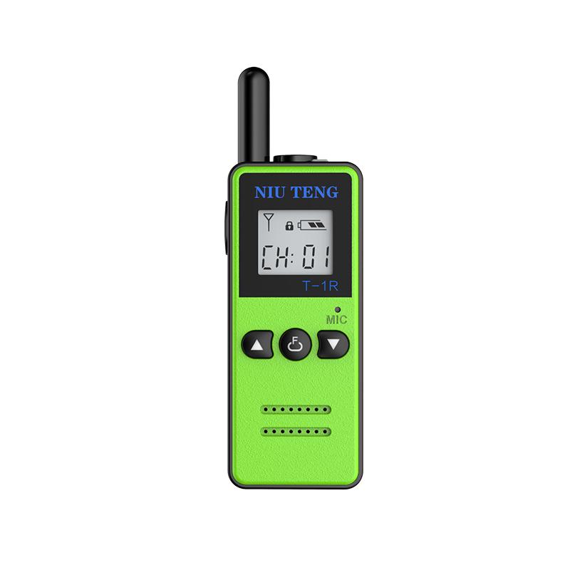 Niu Teng T1 walkie-talkie mini micro salon fryzjerski 4S salon kosmetyczny hotel ultra mały bezprzewodowy domofon