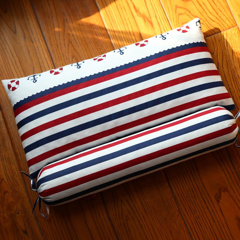 洗い張り保護頚部睡眠円筒昼寝ざぶとん頸椎ケツメイシ児童睡眠首首枕枕カバー