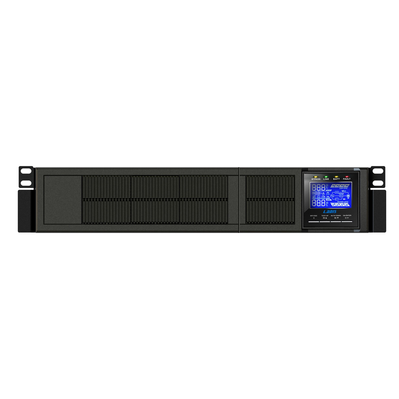 192V6KVA4800W conectado a la batería exterior rack GR6KL Reddy UPS de División de tiempo.