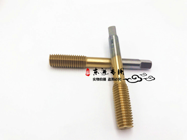 Using titanium tapping machine of M3M4M5M6M8M10M12 hot melt drilling titanium extrusion tap machine