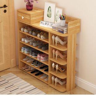家居鞋架简易多层防尘鞋柜多功能经济型家用收纳架子多层大容量