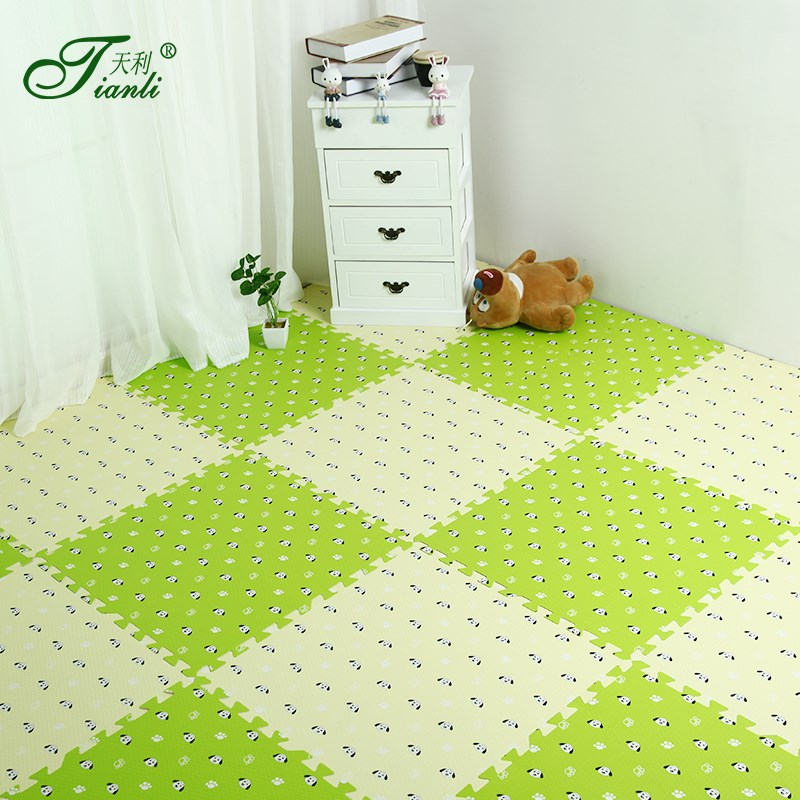 Children room carpet mats household tatami blanket door covered with thick sponge baby pad crawling baby room spell block