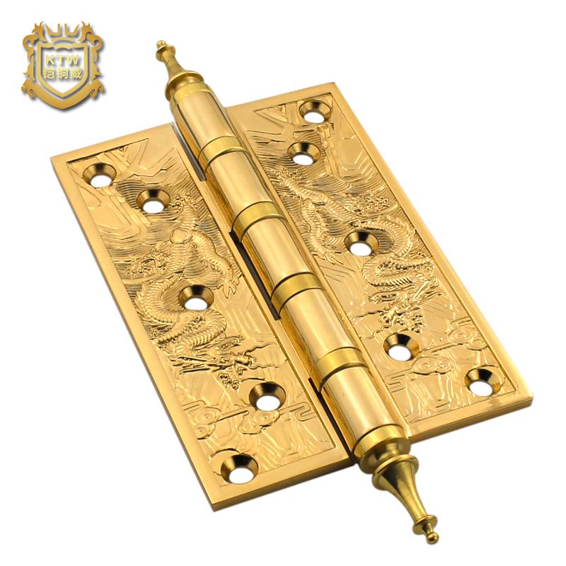 Copper door hinge hinge hinge full 5 inch thick bronze 1 wooden door special