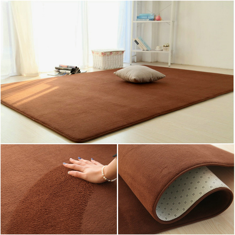 Small fresh bedroom carpet Japanese tatami mats hairless living room coffee table bed blanket home bed