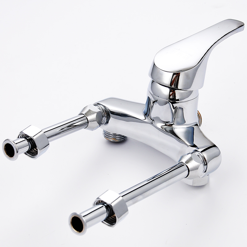 OPPSMS40-80 electric water heater luxury copper thickened mixing valve U type shower faucet lengthened cold tap