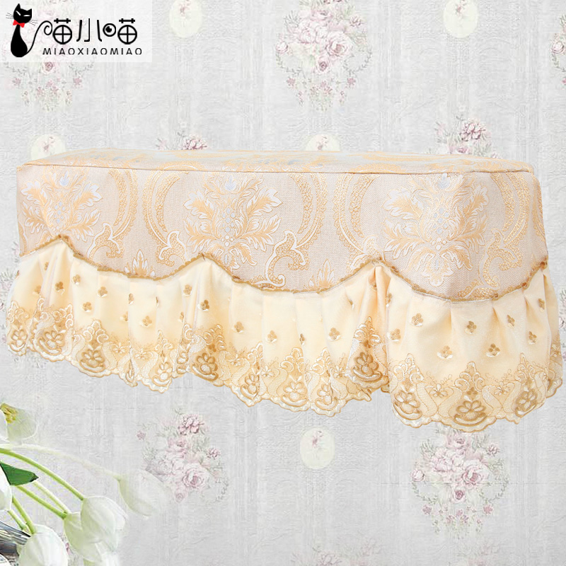 GREE 1.5 air conditioning cover, bedroom hanging lace air conditioning cover, beautiful wall hanging luxury air conditioner cover