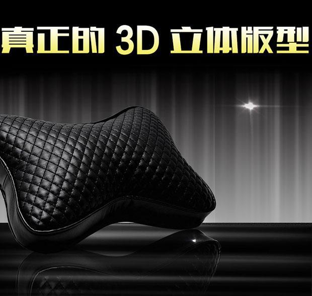 新型超ソフト皮質自動車ヘッドレスト護頚枕車用のクッション枕腰枕で車載骨に
