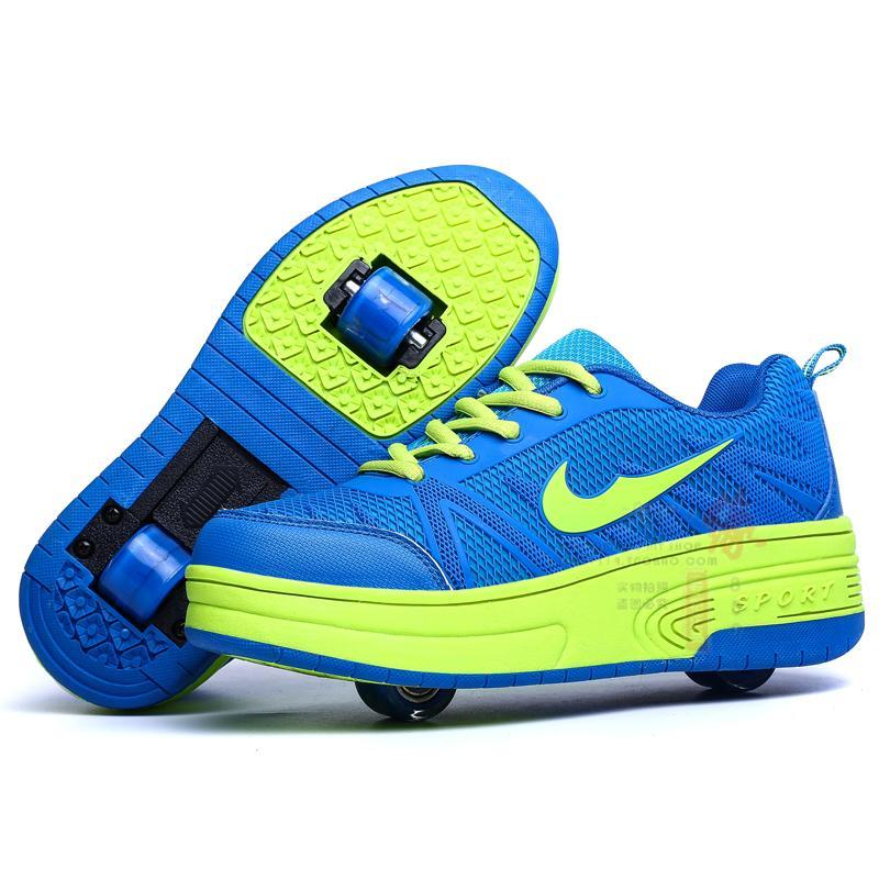 레이스 轱 릴 신발 신발 초등학교 소년 소년 소년 수송 어린이 신발 바닥에 신발을 걸어