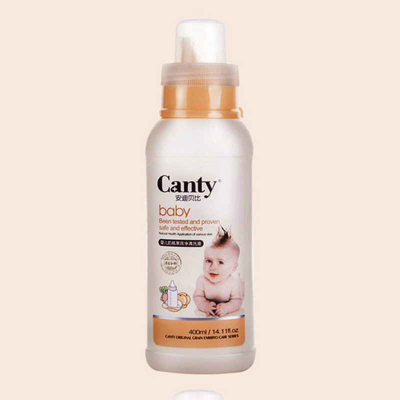 The baby bottle cleaning agent 400ml bottled fruit and vegetable cleaning liquid baby tableware detergent