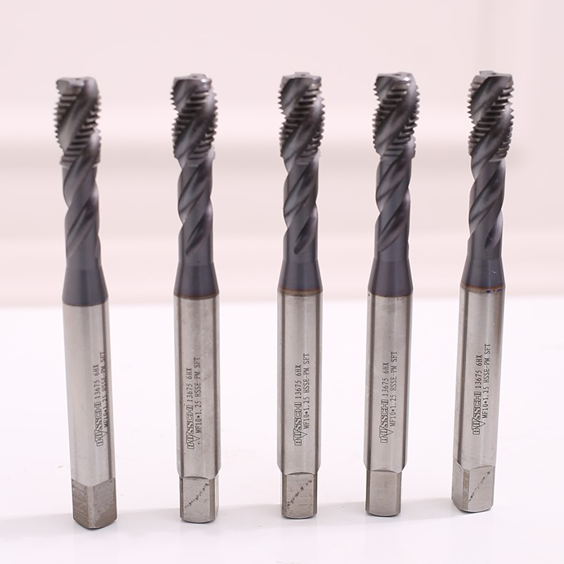 Second hand imported wire tap, Germany BOSS cobalt plated superhard deep hole screw machine M10X1.25
