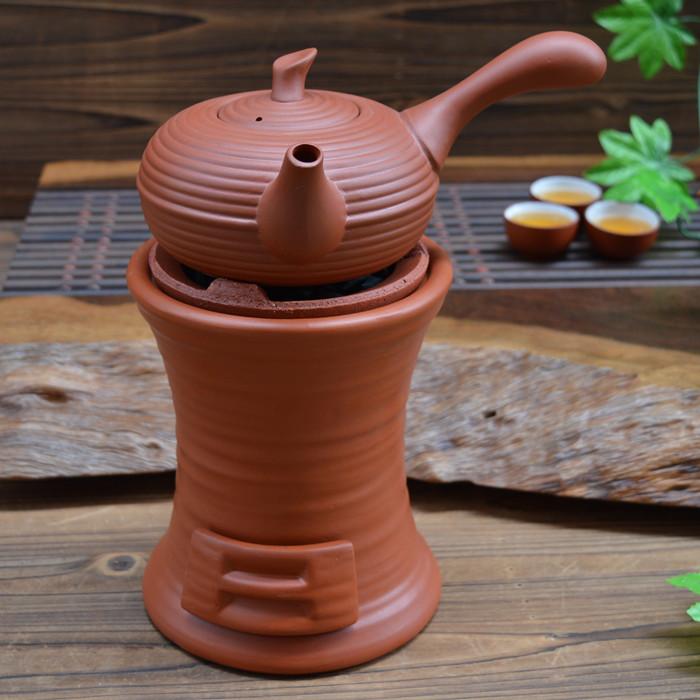 керамические фиолетовый готовить чай горящие угли терракота печь печь печь печь ветер уголь кунг - фу самовар в чайник теплоизоляции углерода печи костюм