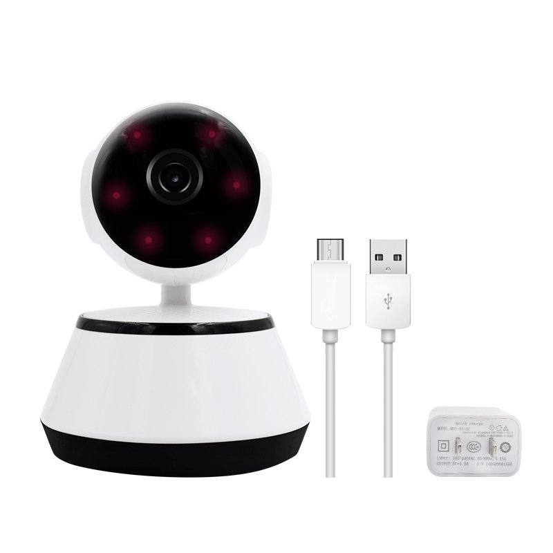 Small probe wireless network monitoring camera WiFi card high definition night vision home networking mobile monitoring