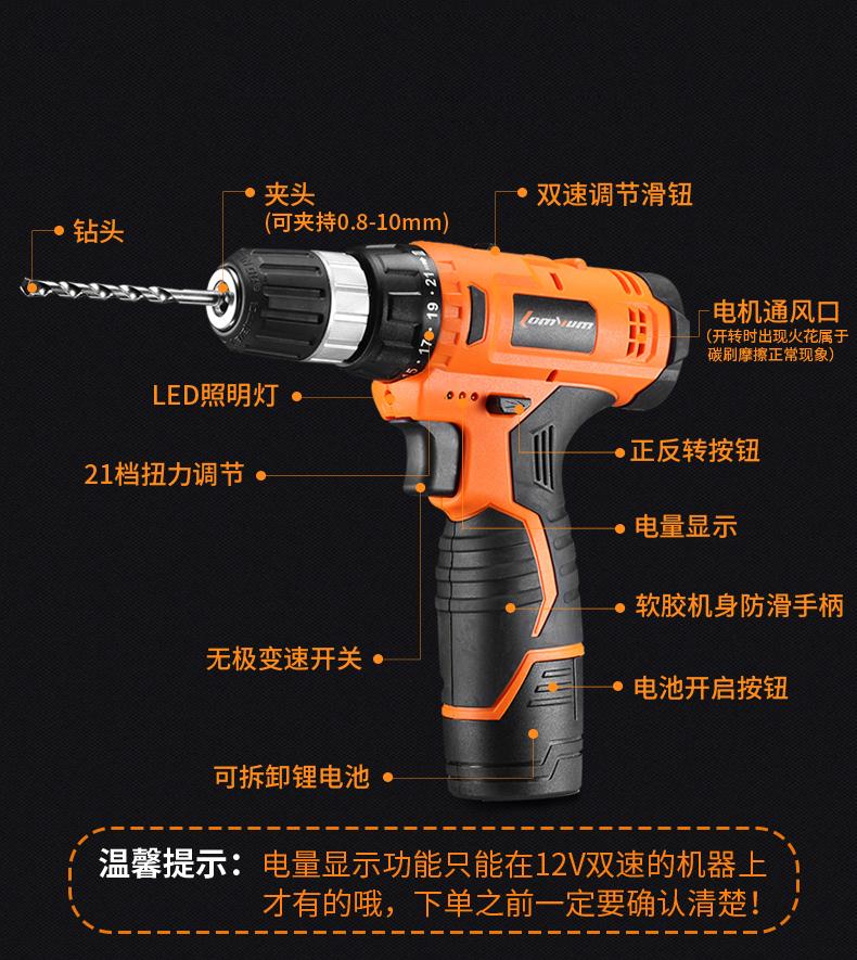 La cassetta degli attrezzi Elettrici Gruppo rivestiti di manutenzione Hardware Multi - funzione di combinazione di carico Manuale interno di perforazione