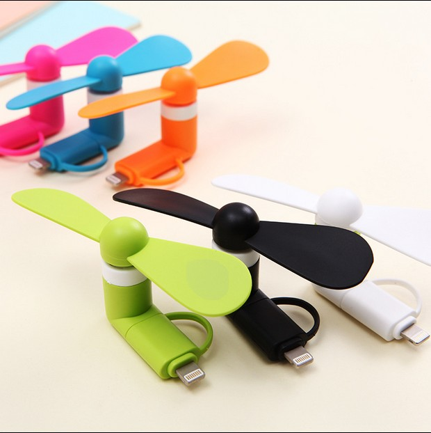 Mini USB small fan, portable Android mobile phone, mobile power phone, general MINIFAN