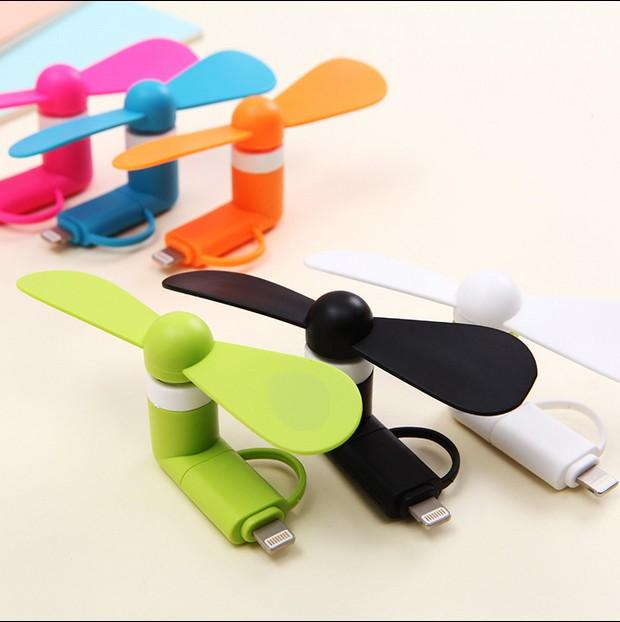Mini - USB Fan Androide di Telefonia mobile cellulare portatile di energia universale MINIFAN