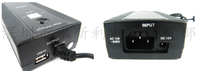 12~24V universal adapter vehicle multi function Notebook Charger 100WLED power supply adjustable voltage