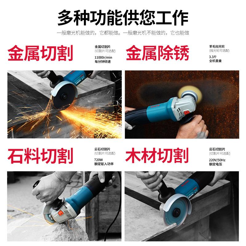Máquina de molino de corte electrónico de cortar la mano de pared de burbujas de agua a nivel industrial. El taladro eléctrico sin dientes.