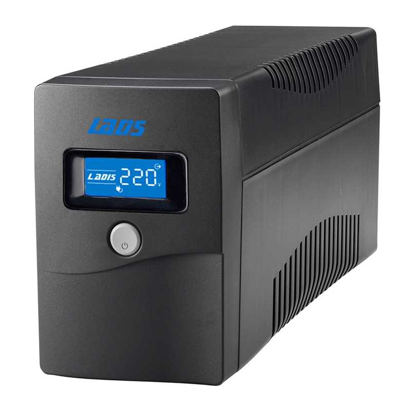 UPS uninterruptible power supply H600 lightning protection voltage regulator 360WLCD long life battery single computer 20 points