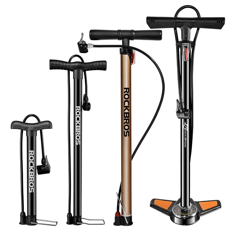 เครื่องสูบลมแบบเท้าเหยียบคอจักรยานมินิแบบพกพารถยนต์รถจักรยานยนต์ไฟฟ้าแรงดันสูงปั๊มบาสเกตบอล