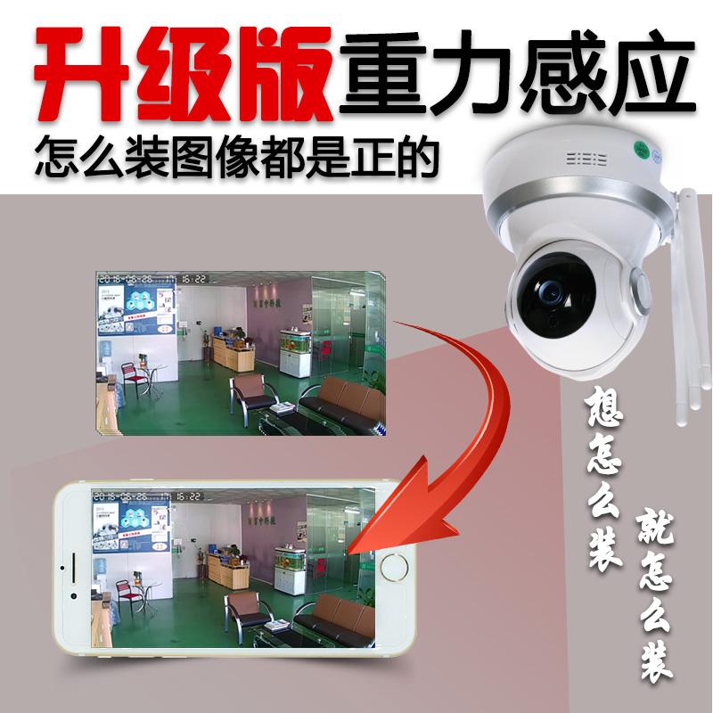كاميرا لاسلكية واي فاي الهاتف المحمول بعد الشبكات المنزلية الذكية 360 درجة بانوراما رصد هد الرؤية الليلية