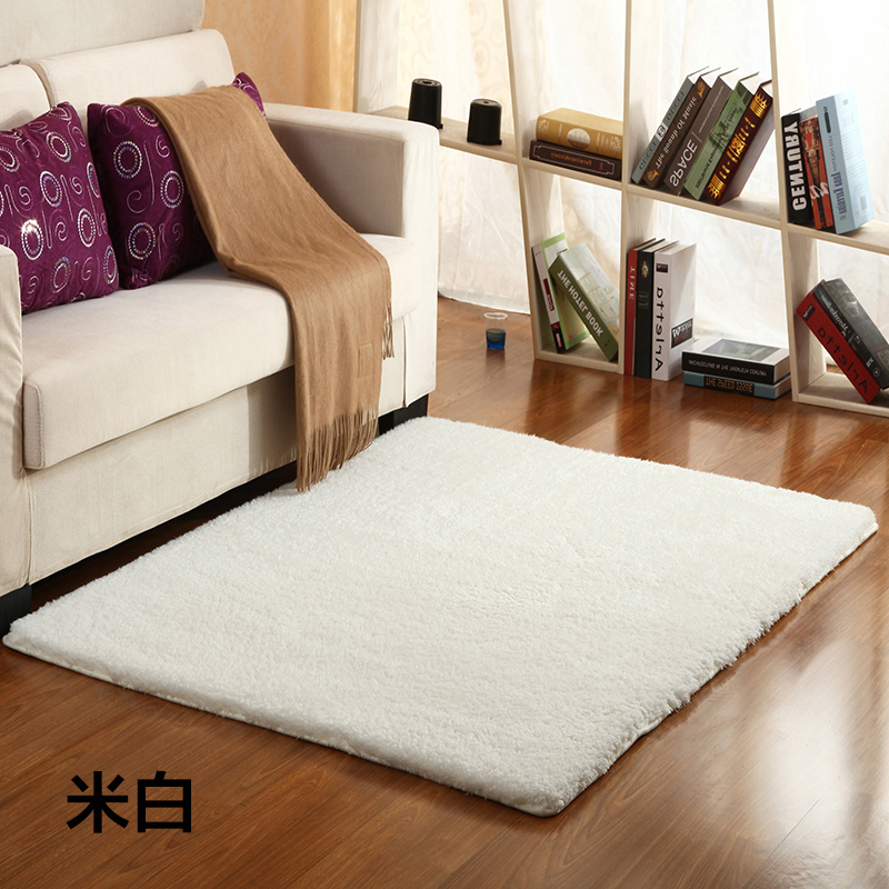 Thick hair lamb carpet color tatami mat bed bedroom living room a few shops can be customized