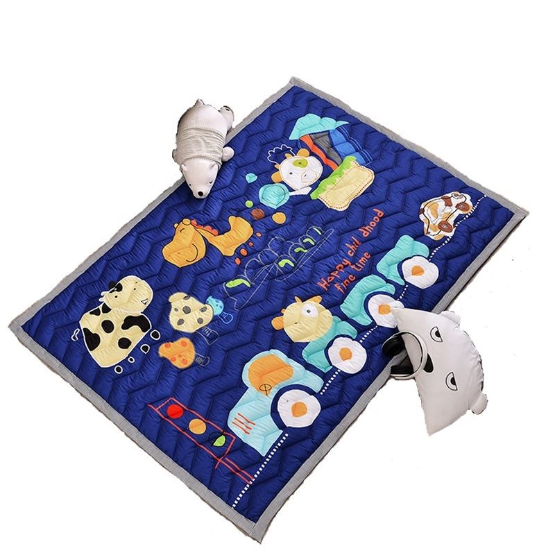 Thickened crawling pad pad antiskid household living room bedroom baby children game pad tatami baby climbing pad