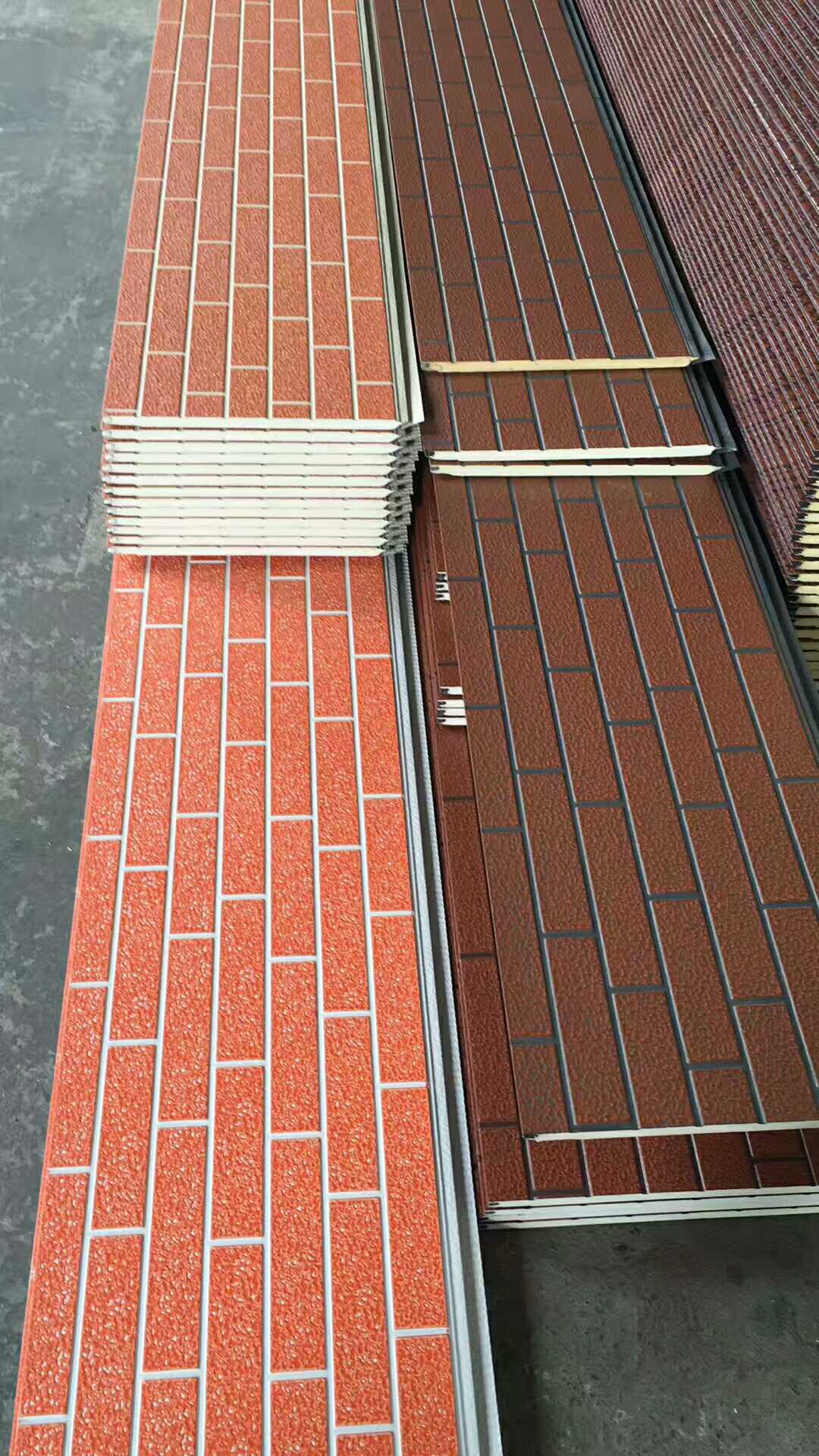 Exterior insulation board dry hanging residential decorative heat preservation material integrated thermal insulation board