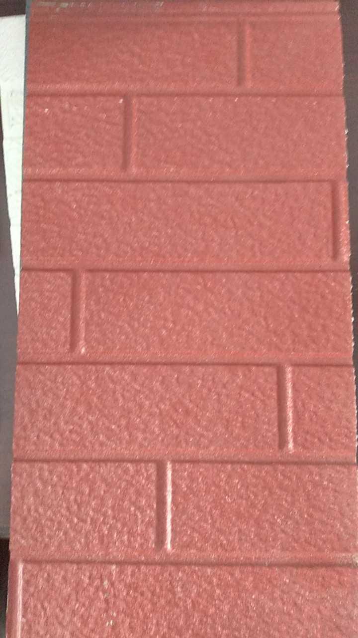 Plaque en acier léger métal gravé Villa de la paroi extérieure de la plaque décorative guérite spécial pour plaque de matériau isolant