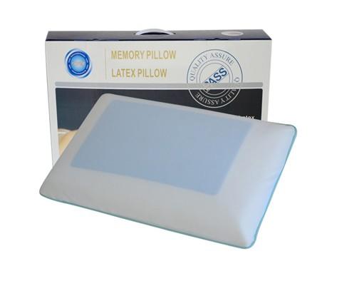 ゲルラテックス頸椎枕枕シリコン記憶護頚ゴム修復快眠枕枕テンセル