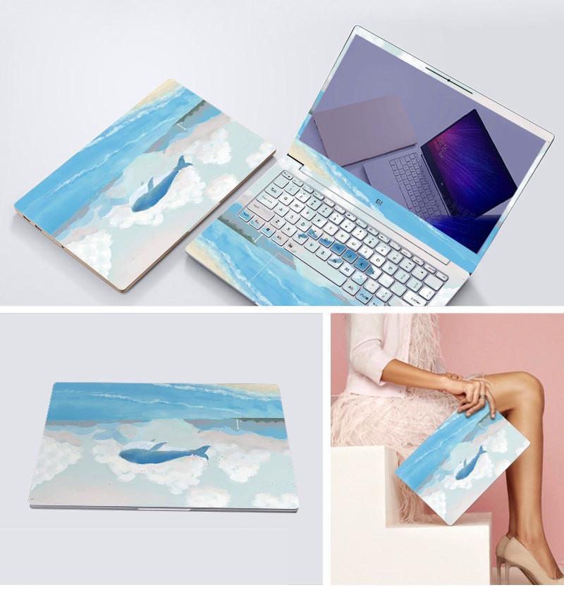 a laptop matricák retro 贴膜 számítógép.