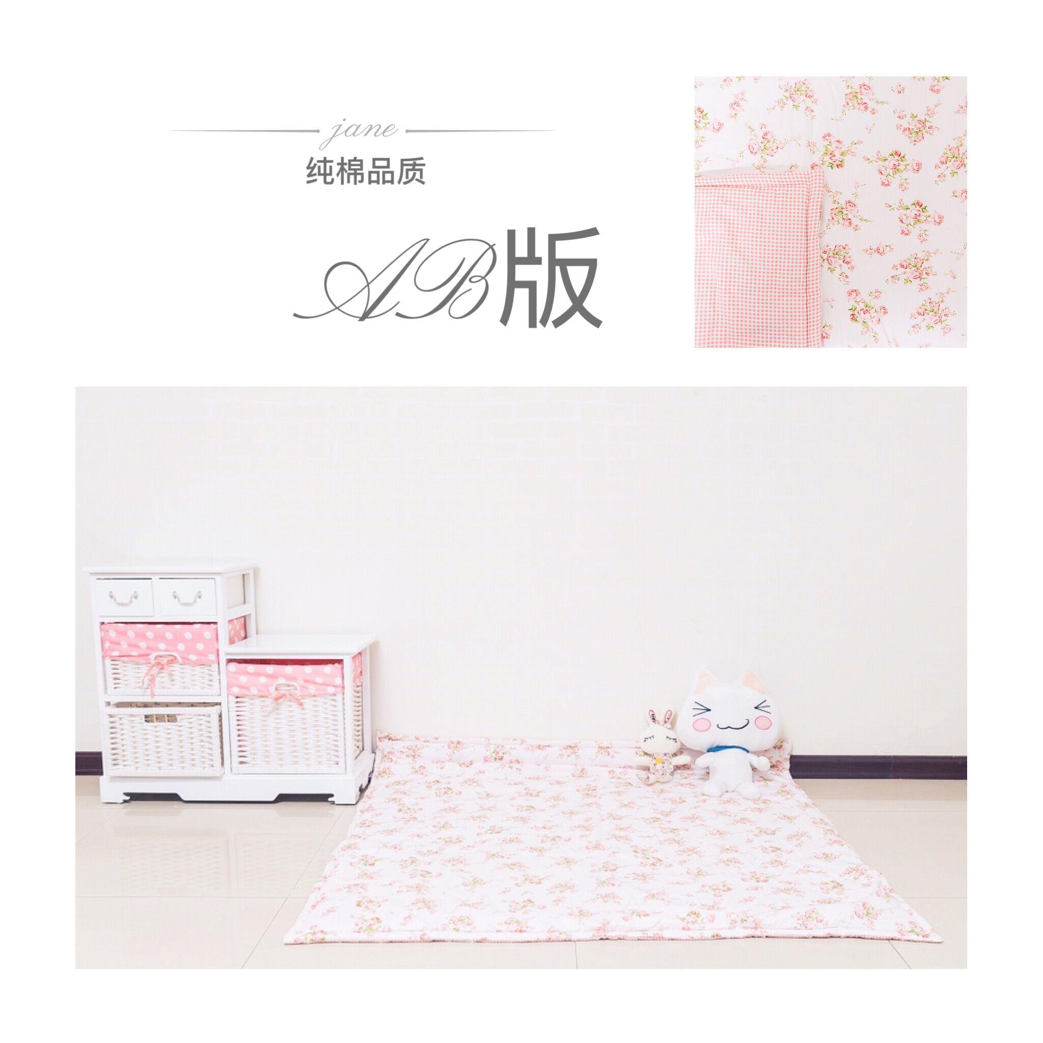 The new cotton canvas tatami mats square * * game pad pad crawling table mats mat tent