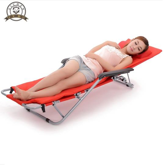 Chongqing break lengthened and thickened bed chair folding chair bed chairs camp bed hospital bed chair