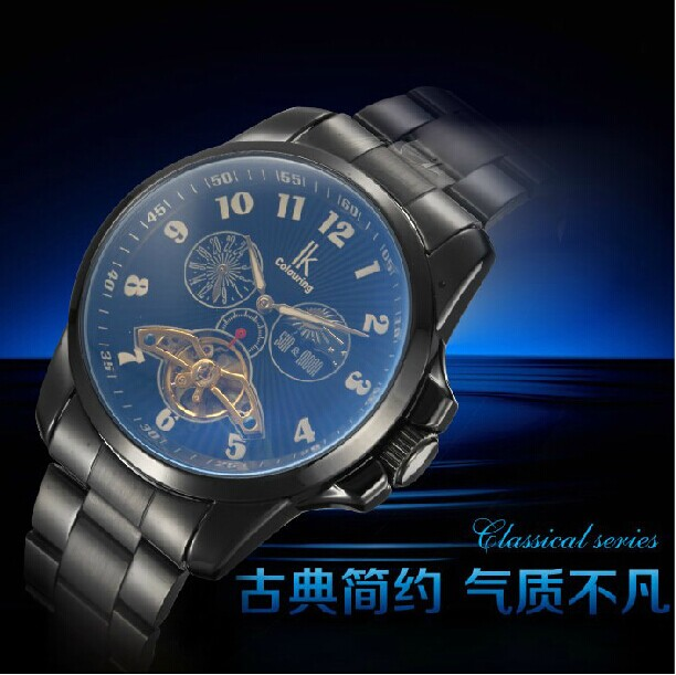 Rossini CK genuine multifunctional mechanical automatic mechanical watch color surface / Black's r2-9