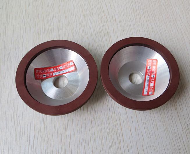 UMA Roda de Liga de aço de tungstênio moagem Roda de Diamante Da resina EM forma de tigela Pequena de milho debulhador de Liga dura