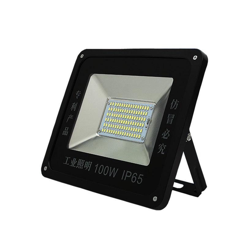 a lámpa piros led - dob 30W50W100W színes 绿蓝 műhely és raktár biztonsági berendezések égihorog lámpákat vízálló
