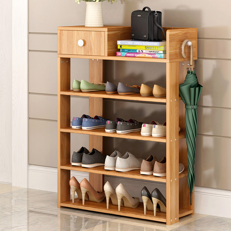 Easy generation of multilayer type household shoe rack with Jane Jane shoes about storage rack cabinet is assembled to prevent dust on the shoes rack by special offer