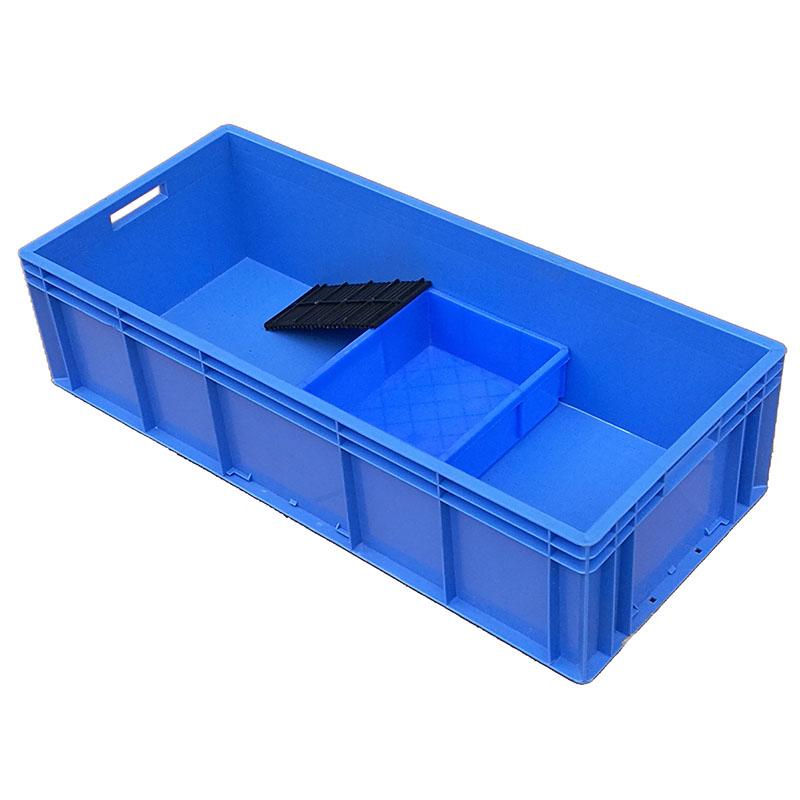 Die schildkröte box kunststoffbehälter weißes rechteck der Europäischen Norm mega - box für fischerei aquakultur - box 4922