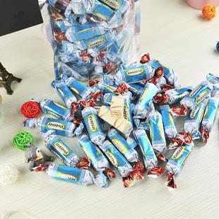 【第二份9.9】俄罗斯进口鲜奶威化糖1斤