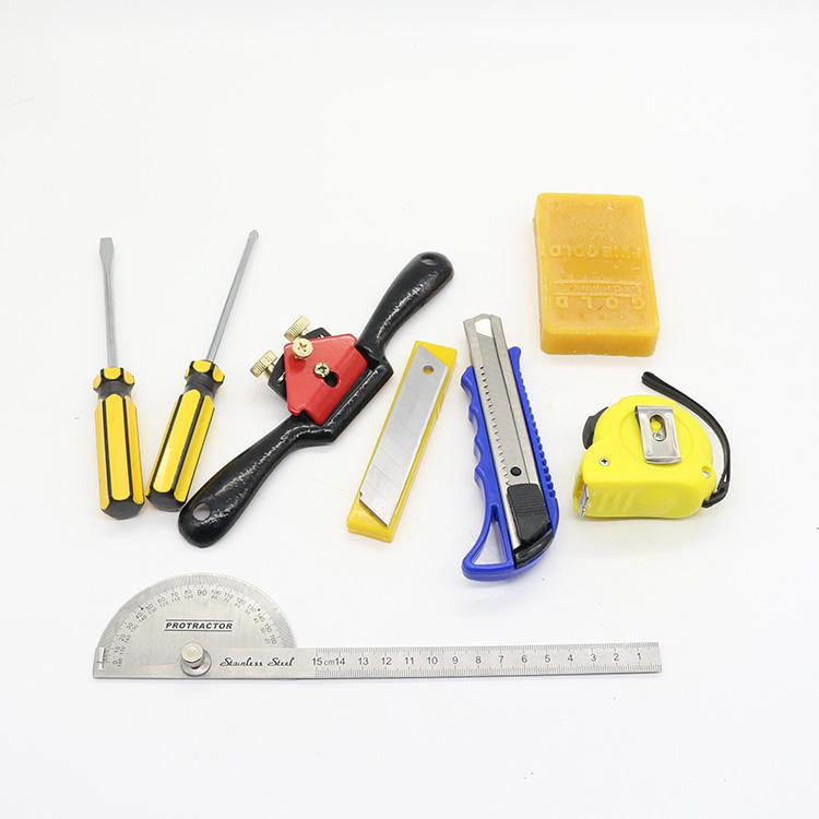 La combinazione di strumenti per la Lavorazione DEL LEGNO A Casa di Legno rivestiti di Legno di Impianti per la Lavorazione DEL LEGNO, seghe a mano scalpello aereo di Legno con UNO scalpello il falegname di strumenti