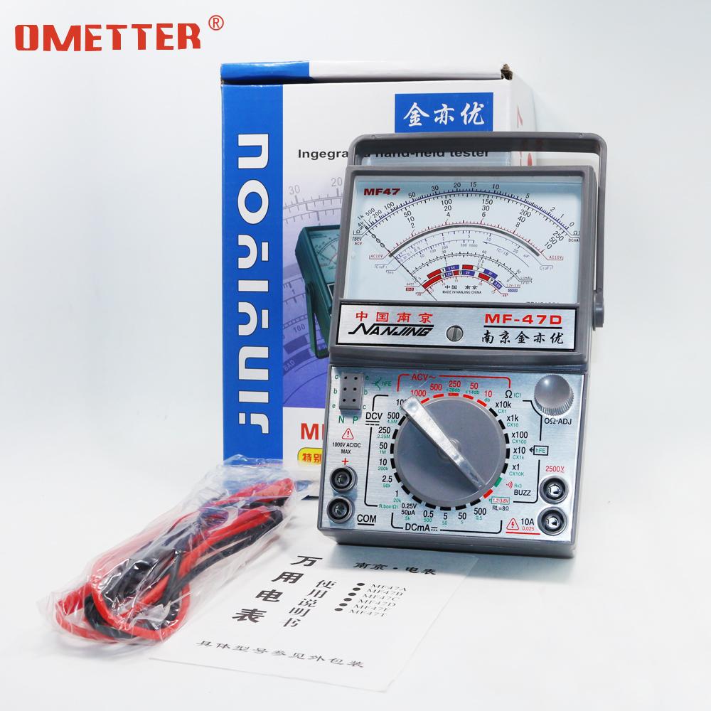البريد حزمة عرض رقمي مؤشر الأفوميتر الرقمية الميكانيكية عالية الدقة عالمية الجدول مؤشر من نوع منع حرق MF47 مع الأز