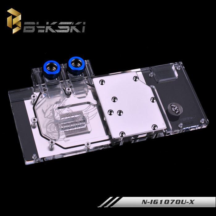 chlazení kapalinou BykskiN-IG1070U-X sedm duhu GTX1070UGTX1060XTOP hlavu.