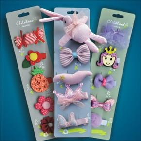 韩国儿童发饰宝宝发夹卡女童发圈头绳套装组合公主头饰发绳橡皮筋