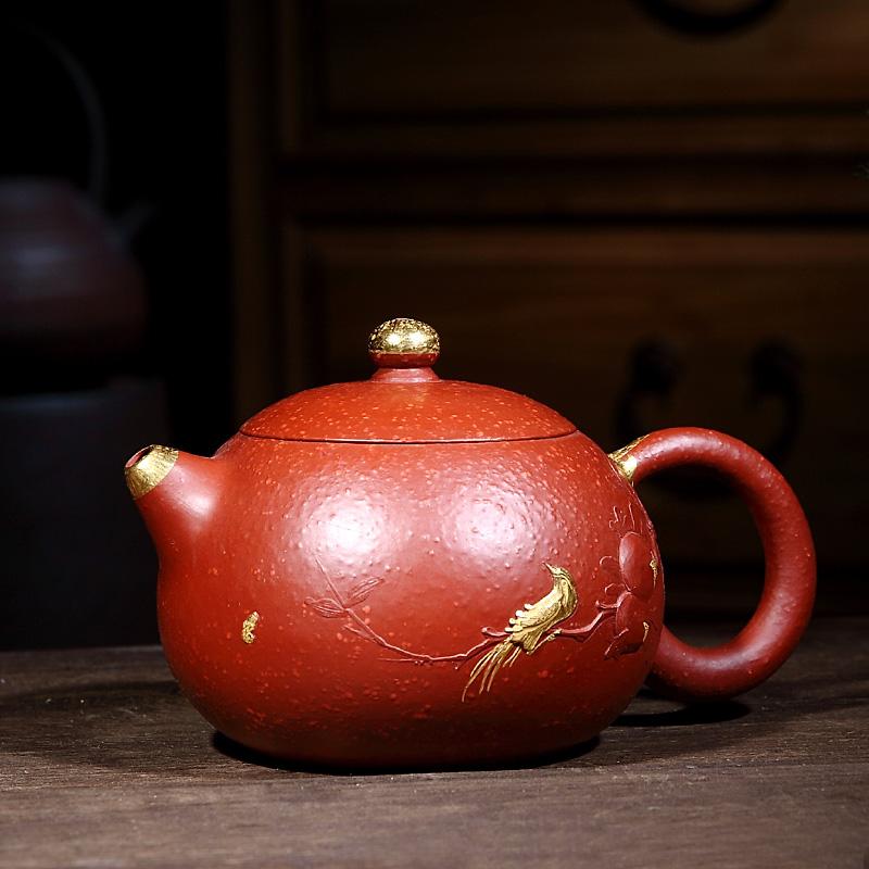 Tao Yuan】 【Master Zisha mist řemeslník ruční keramika Zhu bláto zlato Shi Shi