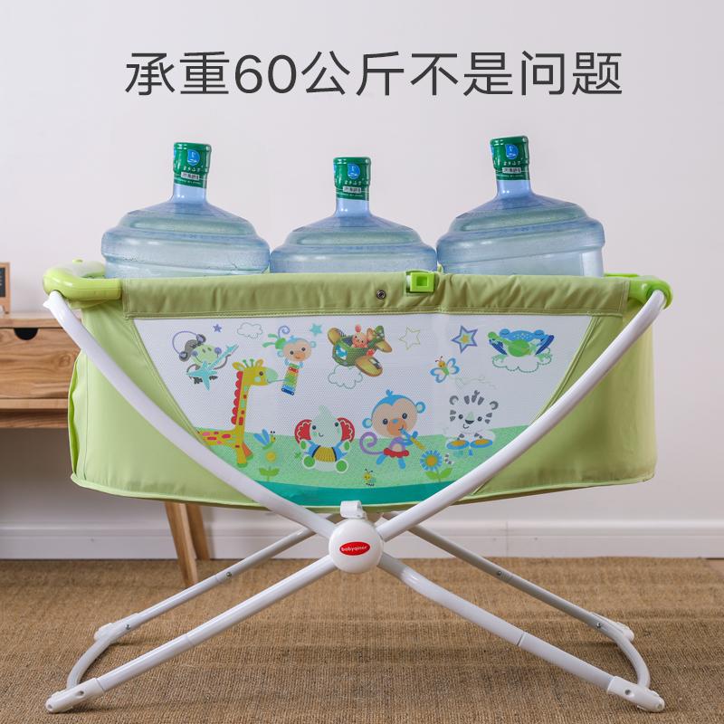 簡易ベッド赤ちゃん携帯型折りたたみベッド新生児ゆりかご多機能ベッド赤ちゃんを持って蚊帳bb旅行ベッド
