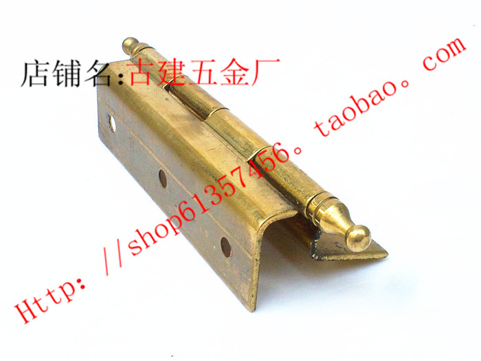 Furniture copper hinge furniture, copper hinge, L type hinge, spring head hinge, cabinet door hinge