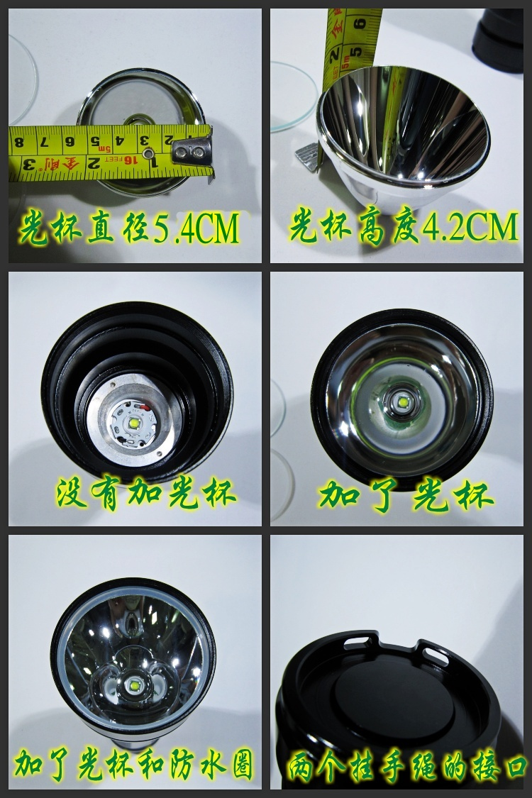 Jinjeng Jkk13 Usb Flashlight Arrived 1050ma Led Driver Board 5 Mode Circuit Unscrewing The Aluminium Bezel Will Give Access To Reflector Pill And Itself Insulating Gasket Is A Bit High Much Of Lens